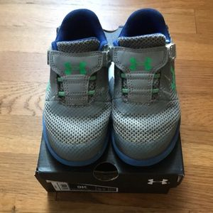 Under armour sneakers size 9K